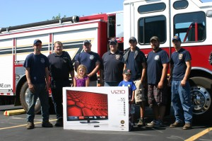 Scottsville Fire Department - 2nd Place in E-ONE Truck Pull