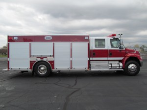 Saint Paul Blvd, NY Fire Dept. Stainless Heavy Rescue - Officer side