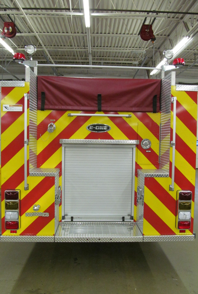 Henrietta's Stainless Steel E-ONE Pumper