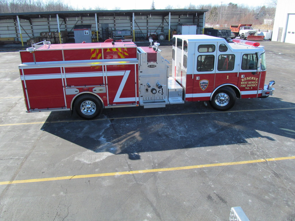 West Seneca Stainless Top Mount Pumper by E-ONE Hamburg, NY  1 of 2