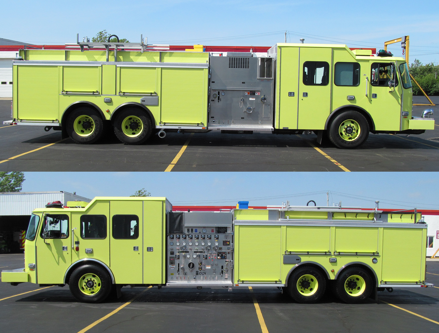 E-ONE Stainless Pumpers for City of Chicago