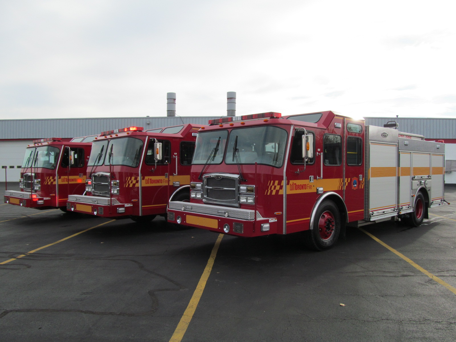 The First Three E-ONE Stainless Pumpers of a Multi – Truck