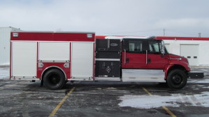 E-ONE Stainless Pumper