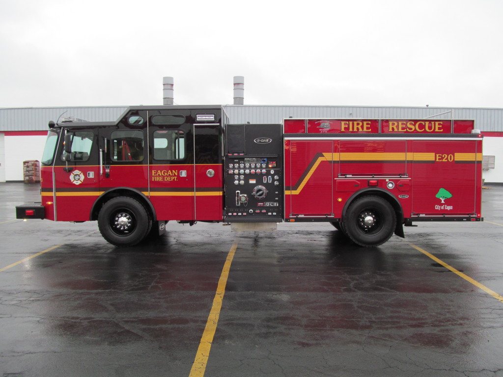 Eagan Fire Department - E-ONE Stainless Pumper