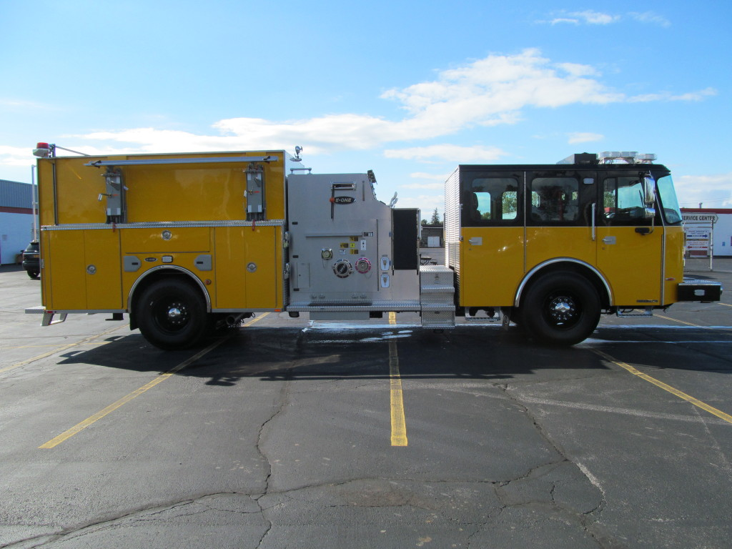 E-ONE Stainless Pumper-Haddam