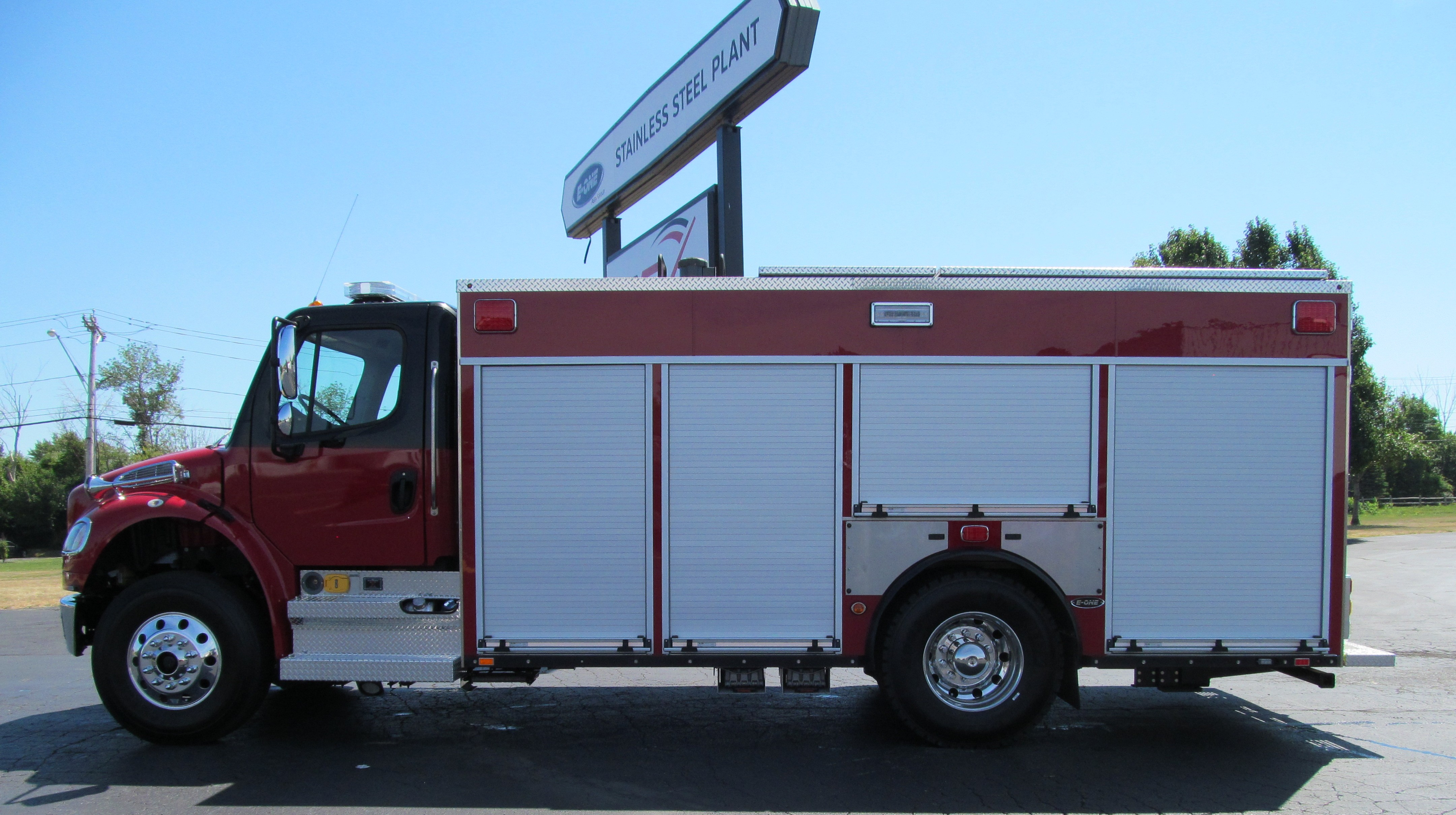 E-ONE Stainless Steel Rescue to City of Cortland
